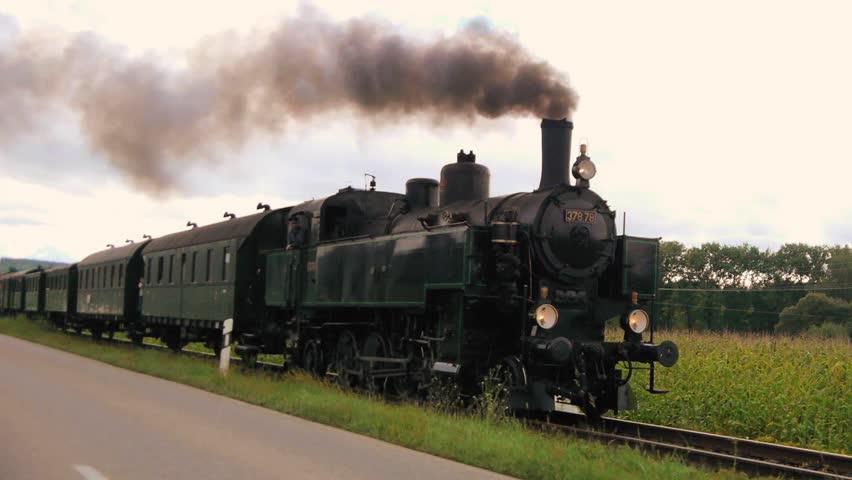 steam engine. steam locomotive. steam train. old technology