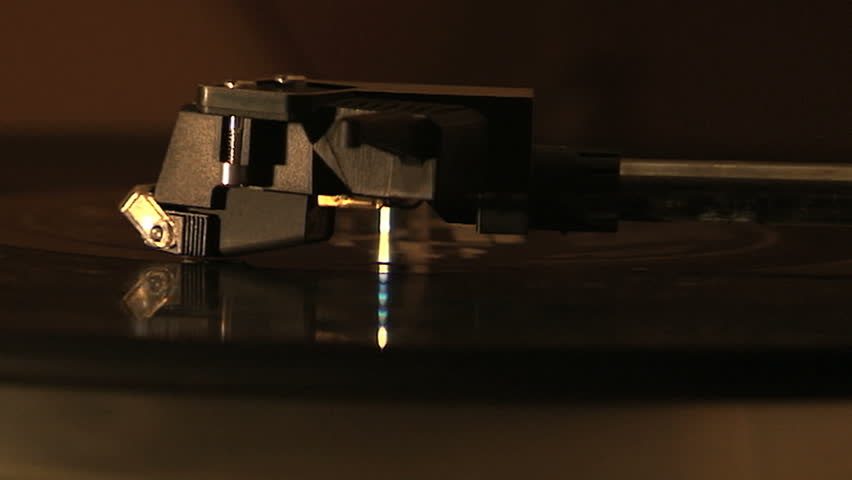 Turntable / Record Player Needle Stock Footage Video ...