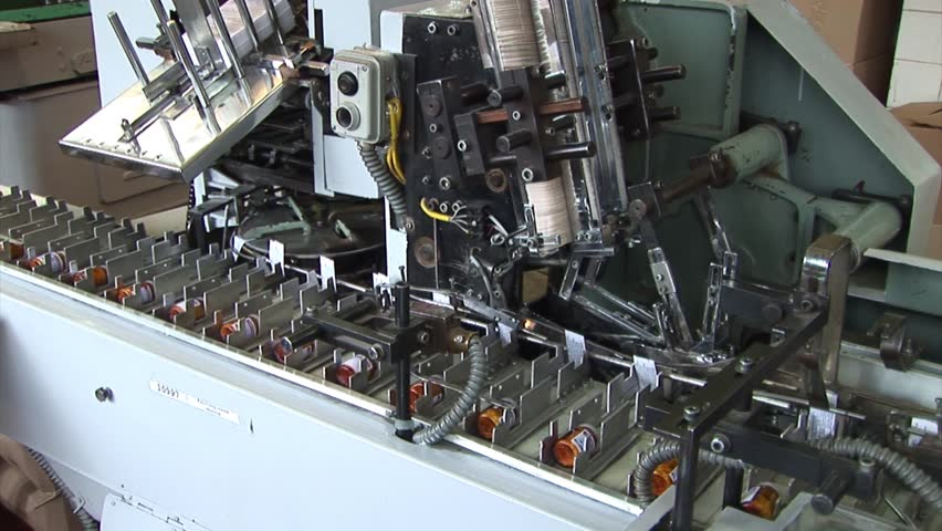 Automated production of medicines. Packaging of drug