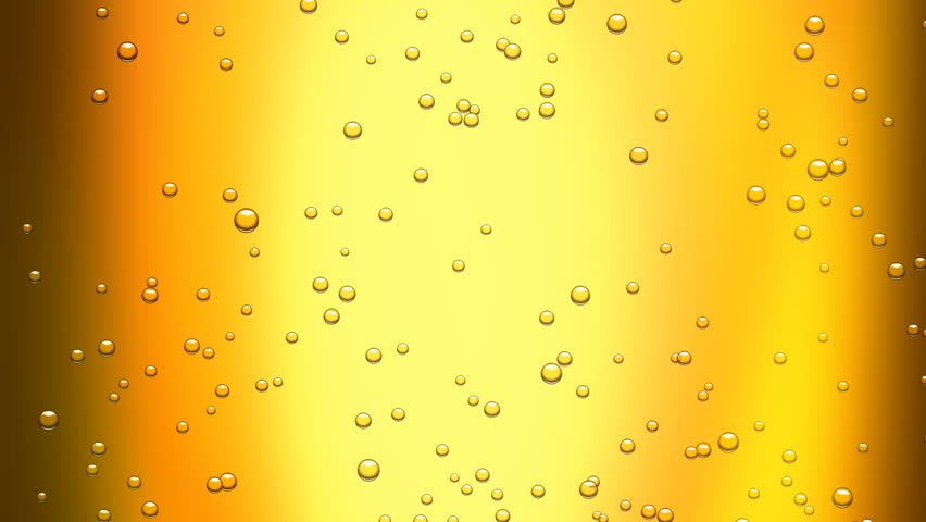 beer bubbles (seamless loop) + alpha matte - HD stock video clip