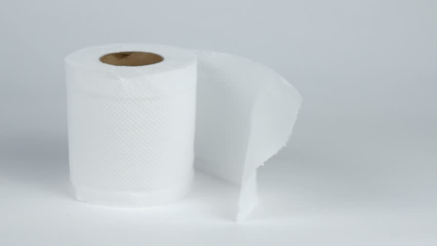 Toilet paper with a soft gentle breeze.