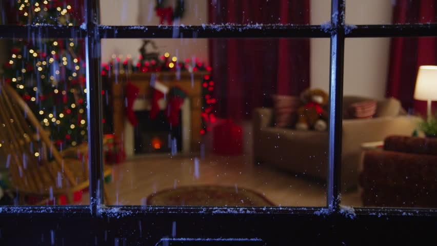 Christmas themed room | Shutterstock HD Video #4786079