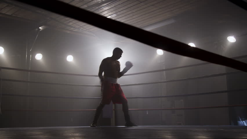 Boxing in the ring
