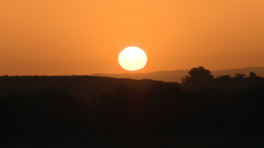 Sunrise, Sun Rising at Dawn Time Lapse