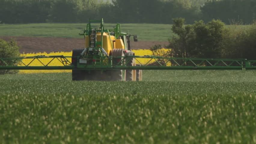 Spreading Pesticides in Springtime