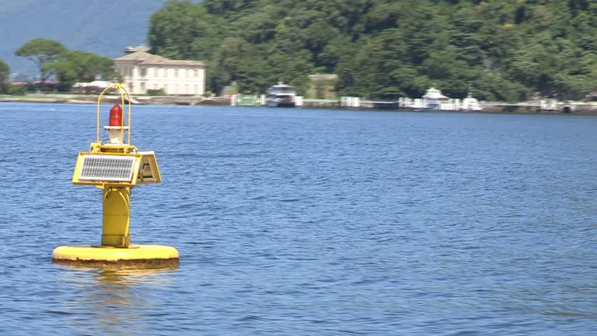 Buoy in Como lake    Shutterstock HD Video #5084924