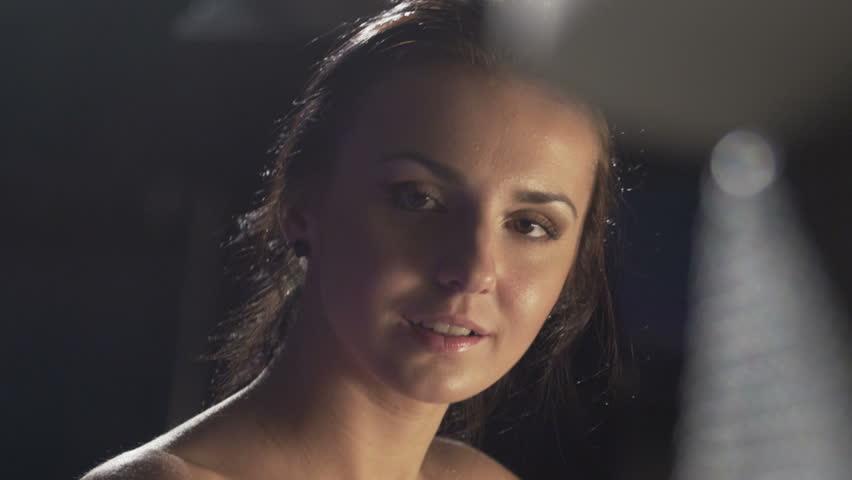 Studio shot footage stock clips for A beautiful you at vesuvio salon studios