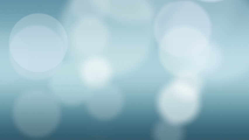 Loopable blue abstract background with soft circles floating slowly - HD stock footage clip