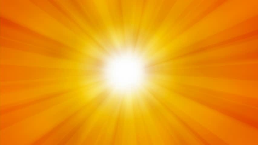sun rays - HD stock video clip