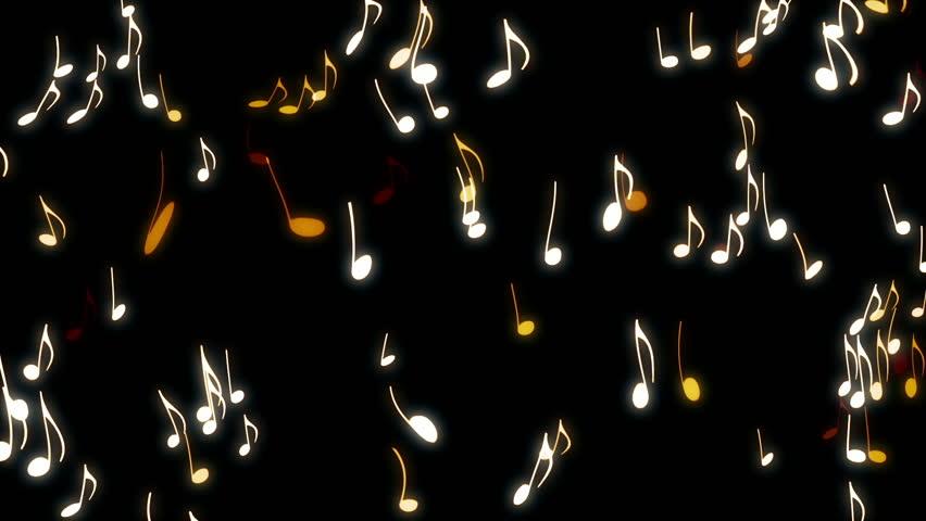 Dancing Musical Notes