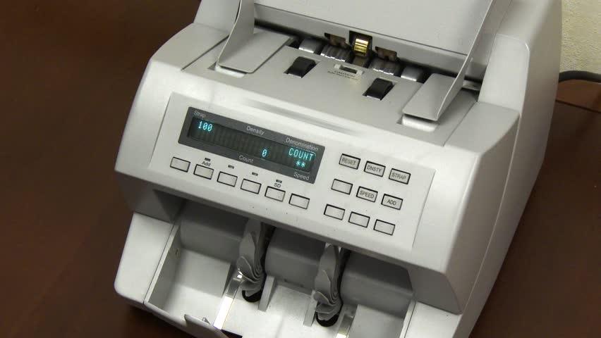 dollar bill counting machine