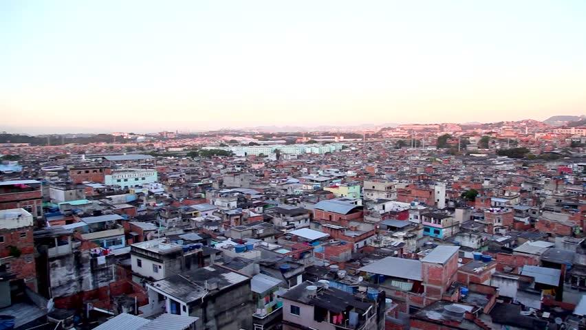 Rio de Janeiro Slum pan / Favela Jacarezinho | Shutterstock HD Video #5291942