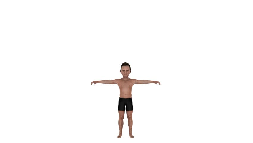 Child growing - Muscles growing