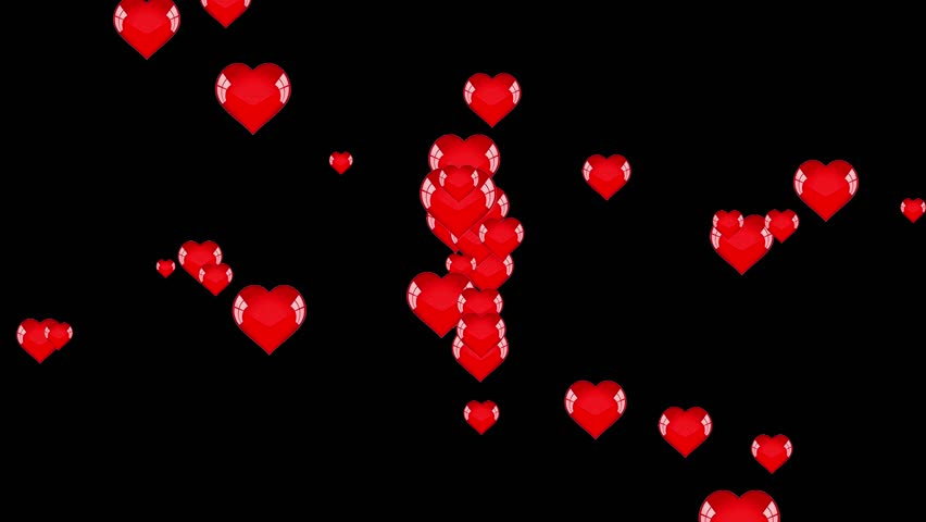 red animated hearts on - photo #35