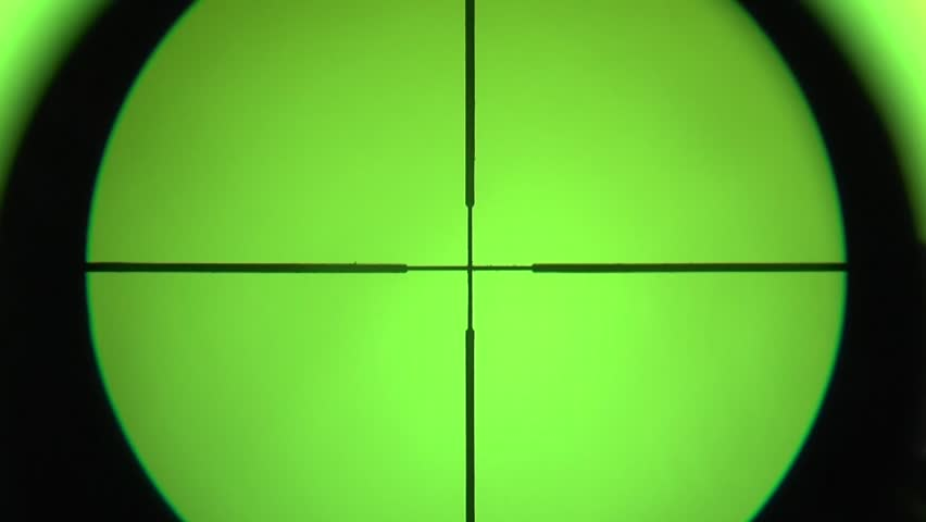 sight being focused against the chromakey - HD stock footage clip