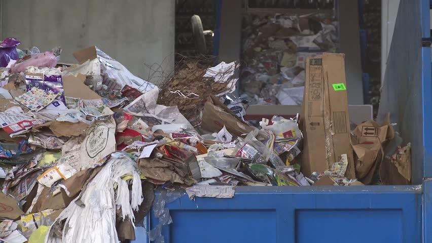 Garbage piling up (1 of 5)