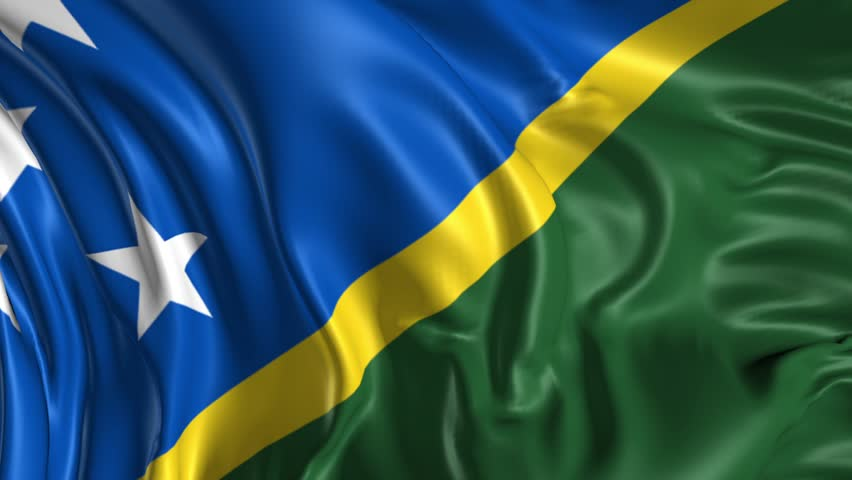 Flag Solomon-Islands Animated Flag Gif