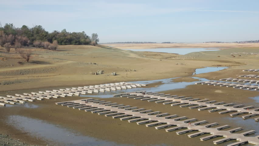 California drought timelapse time lapse early morning of for Folsom lake fishing report