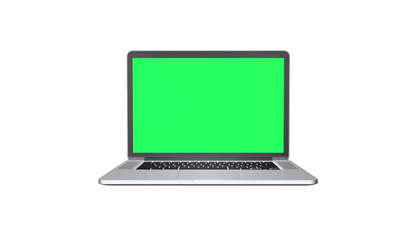 Notebook with track Green screen | Shutterstock HD Video #5499950