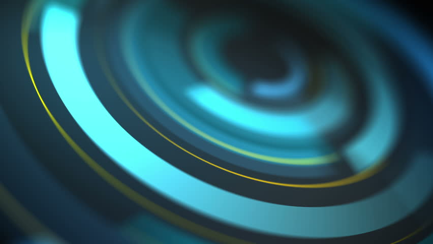 Abstract background with animated shapes and circles   Shutterstock HD Video #5500958