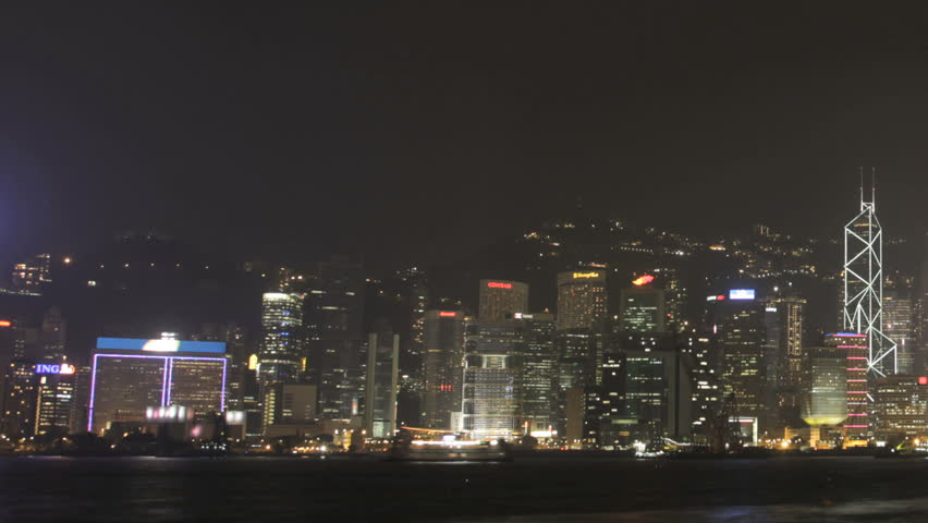 HONG KONG 2012 - Time Lapse Of The Incredible Hong Kong Skyline And Harbor From Kowloon | Shutterstock HD Video #5521604
