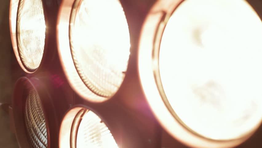 Sports - floodlights, close up
