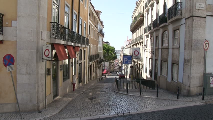 Lisbon, Portugal - HD stock footage clip