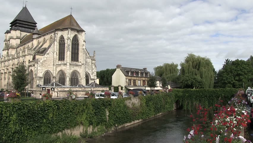 Normandy, France - HD stock footage clip