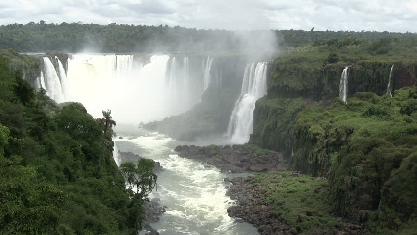 Iguazu Falls, Brazil | Shutterstock HD Video #5554427