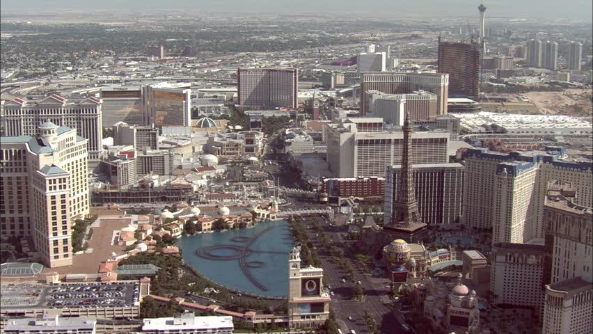 LAS VEGAS, USA - 1 January 2011 - Las Vegas Strip. Pan across Las Vegas strip during the day | Shutterstock HD Video #5576468