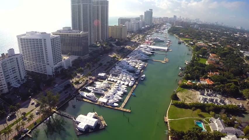 Miami International Boat Show circa 2014