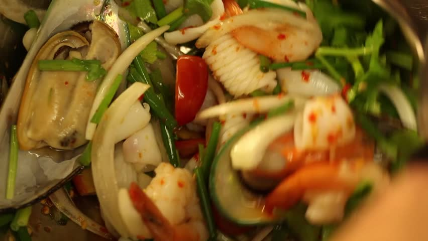 Asian food footage page 2 stock clips for Asian cuisine indian and thai food page