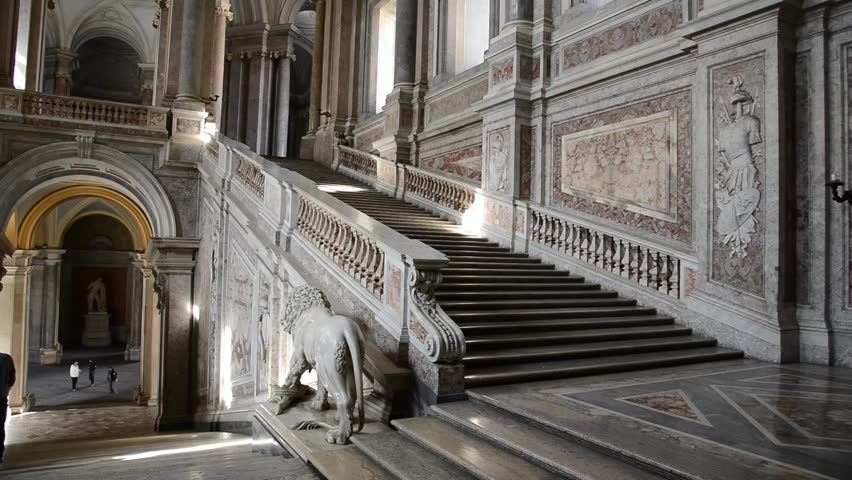 Caserta italy february 16 caserta royal palace called the little versailles has been featured - Interior designer caserta ...