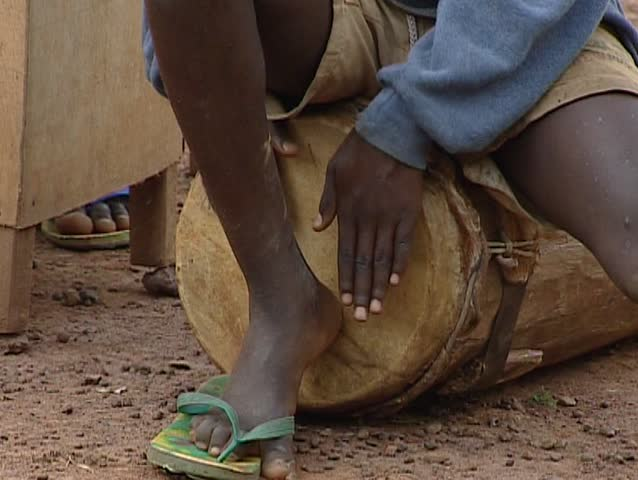 African People Playing Music Stock Footage Video 5673623 ...
