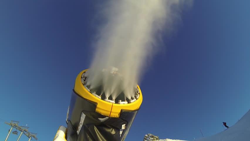 Snow Cannon  | Shutterstock HD Video #5682605