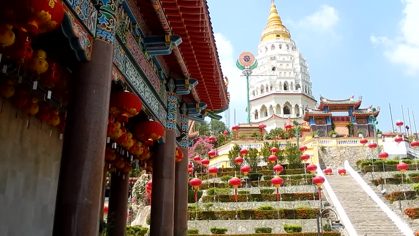 Kek Lok Si Buddhist Temple, Penang, Malaysia