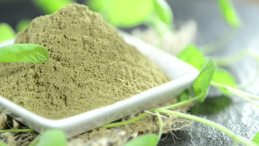 Sage Leaf Powder Organic - Starwest Botanicals