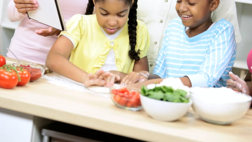 Image result for african american children cooking