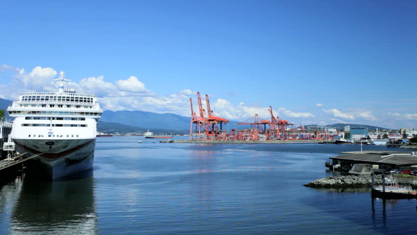 Canada Place Cruise Ship Terminal Port Of Vancouver Docks ...