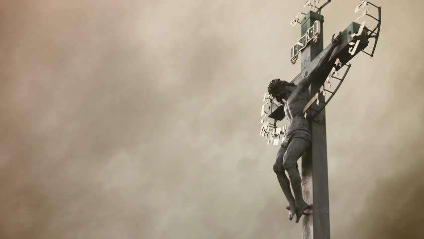 Jesus christ crucified the crucifixion christian cross - Jesus hd 1080p ...