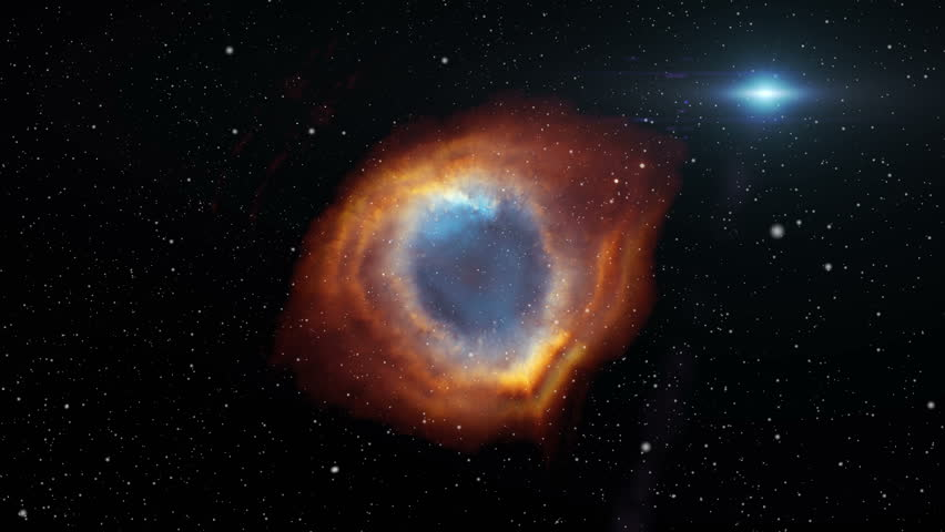 Helix Nebula fly through