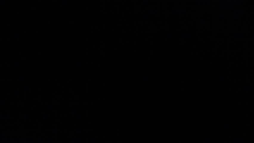 LAS VEGAS,NEVADA - CIRCA April 2012 :drape goes up aerial evening view of the paris hotel | Shutterstock HD Video #6152378