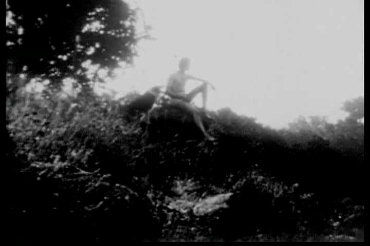 silent  era film depicting  biblical story  adam