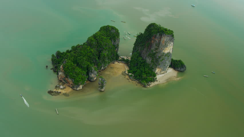 Phing Kan or Ko Khao Phing Kan are a pair of islands on the west coast ...