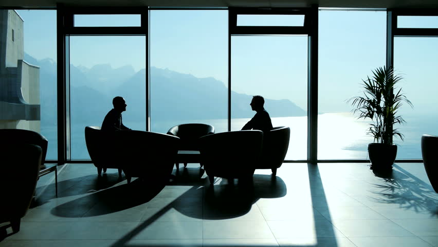 Luxury business company interior business discussion for Luxury wallpaper companies