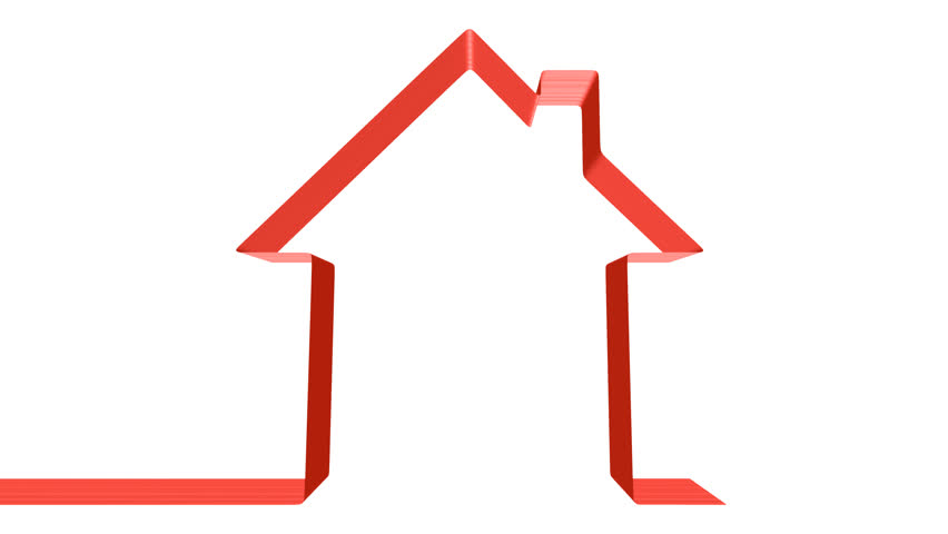 House icon rotate animation seamless looping hd video for Minimalist moving house