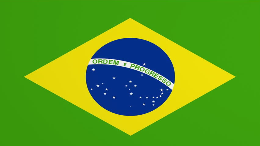 Brazil Flag page curl transition. Comes with the Alpha Matte,