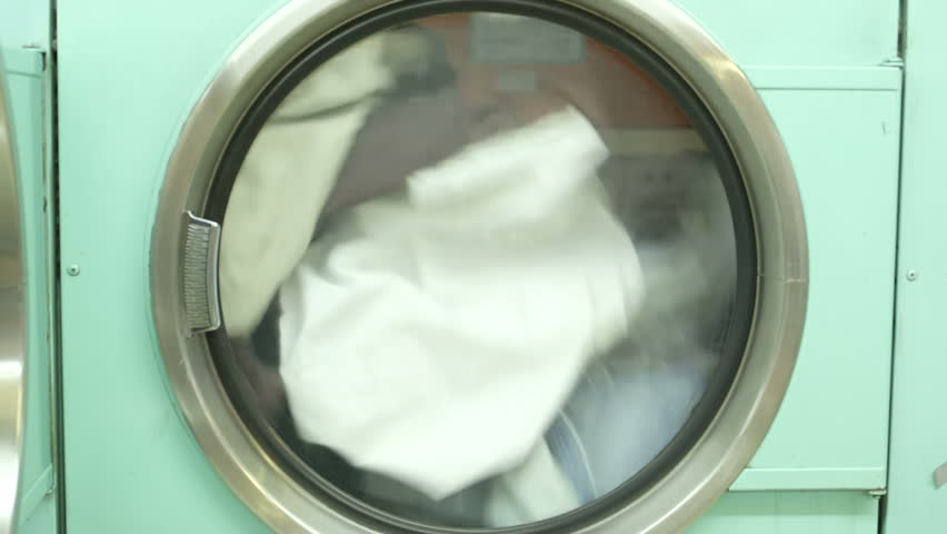 Launderette Footage Stock Clips