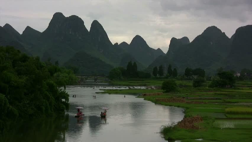 Amaizing Yangshuo valley in China