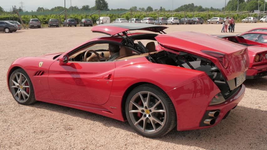 Sports Cars Luxury >> Ferrari california Footage | Stock Clips